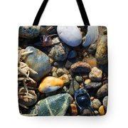 Rocks And Shells Tote Bag