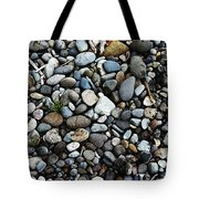 Rocks And Sticks On The Beach Tote Bag