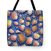 Rocks And Water Abstract Tote Bag