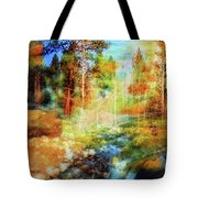 Rocks And Water Double Tote Bag