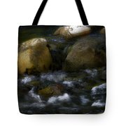 Rocks And Water Tote Bag