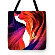 Rocks Dressed In Color Tote Bag