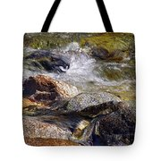 Rocks In A Stream 2a Tote Bag