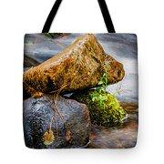 Rocks In The Creek Tote Bag