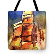 Rocks Of Lovett Tote Bag