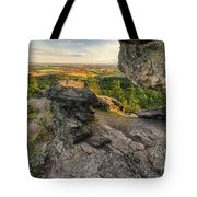Rocks Of Sharon Overlook Tote Bag