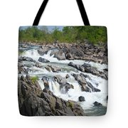 Rocks Of The Potomac Tote Bag