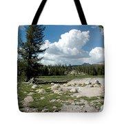 Rocks Of Tuolumne Meadows Tote Bag