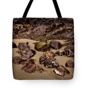 Rocks On The Beach Tote Bag