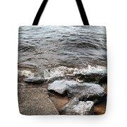 Rocks On The Chesapeake Tote Bag