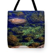 Rocks Ripples And Reflections Tote Bag