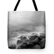 Rocks To The Ocean Tote Bag