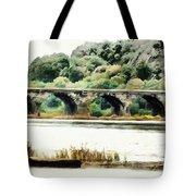 Rockville Bridge On The Susquehanna River Tote Bag