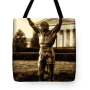 Rocky - Heart Of A Champion  Tote Bag by Bill Cannon