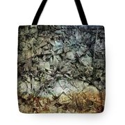Rocky Abstraction Tote Bag