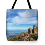rocky Australian mountain summit Tote Bag