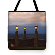 Rocky Butte Lamps Tote Bag