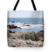 Rocky California Coastline Tote Bag
