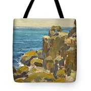Rocky Cliffs Catalina Island Tote Bag