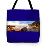 Rocky Cliffs Tote Bag