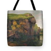 Rocky Cliffs Tote Bag