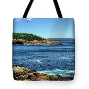 Rocky Coastline 3 Tote Bag