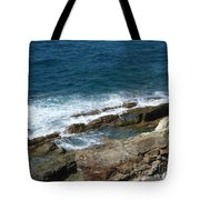 Rocky Coastline Tote Bag