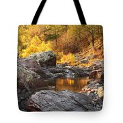 Rocky Creek II On Mill Mountain In The Missouri Ozarks Tote Bag