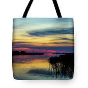 Rocky Creek Sunset Tote Bag