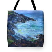 Rocky Creek Viewpoint Tote Bag