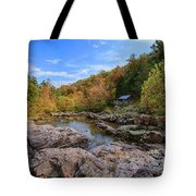 Rocky Falls Near Klepzig Mill Tote Bag