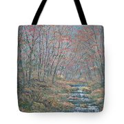 Rocky Forest. Tote Bag