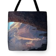 Rocky Growth  Tote Bag