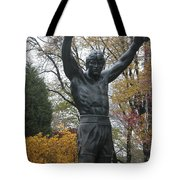 Rocky In The Fall Tote Bag