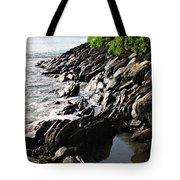 Rocky Maui Coast Tote Bag