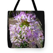 Rocky Mountain Bee Flower Tote Bag