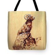 Rocky Mountain Bighorn Sheep Tote Bag