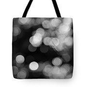 Rocky Mountain Bokeh Tote Bag