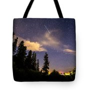 Rocky Mountain Falling Star Tote Bag