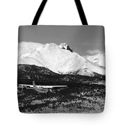 Rocky Mountain Flying  Tote Bag