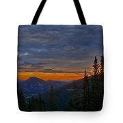 Rocky Mountain High Sunrise Tote Bag