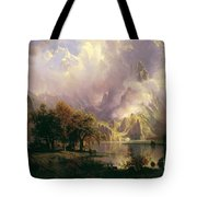 Rocky  Mountain  Landscape Tote Bag