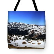 Rocky Mountain National Park Pano 2 Tote Bag