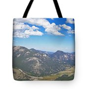 Rocky Mountain National Park Panoramic Tote Bag