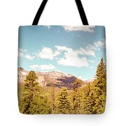 Rocky Mountain Panorama Too Tote Bag