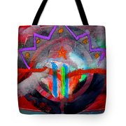 Rocky Mountain Pass Tote Bag
