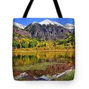Rocky Mountain Reflections - Telluride - Colorado Tote Bag