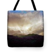 Rocky Mountain Sky Tote Bag