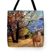 Rocky Mountain Trail Tote Bag