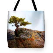 Rocky Mountain Tree Tote Bag